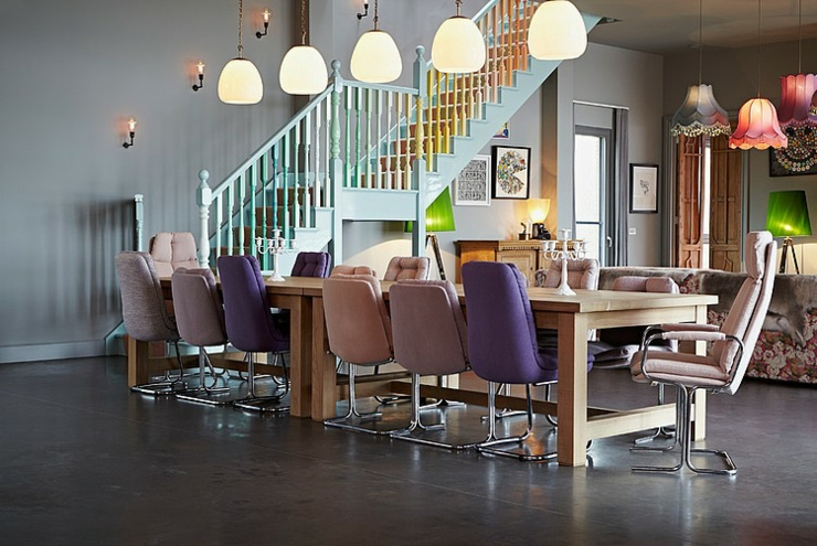 Chaises Originales Salle A Manger Maison Image Idee