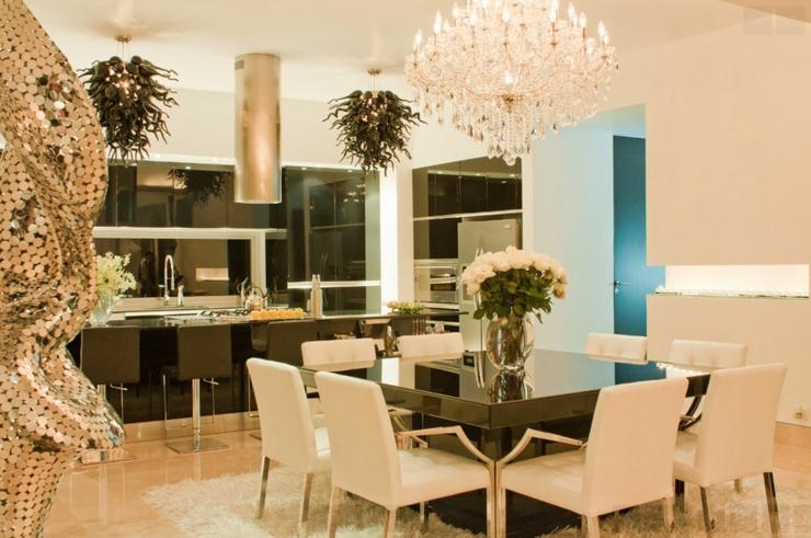 El gant appartement de vacances sur la c te mexicaine vivons maison - Salle a manger avec table carree ...