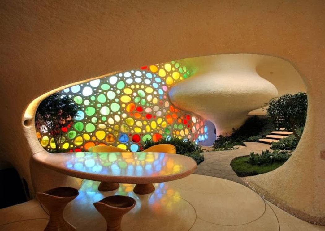 Habitation originale « Nautilus » près de Mexico City inspirée par ...