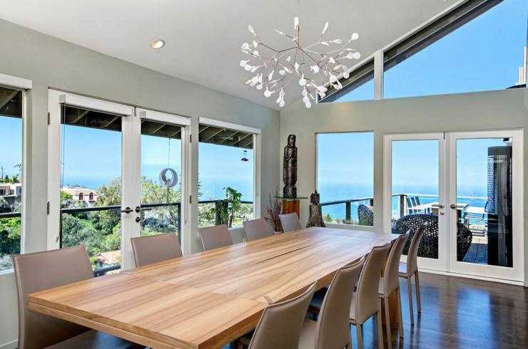 Jolie maison avec vue splendide sur l oc an en californie - Maison secondaire cotiere avec vue katch ...