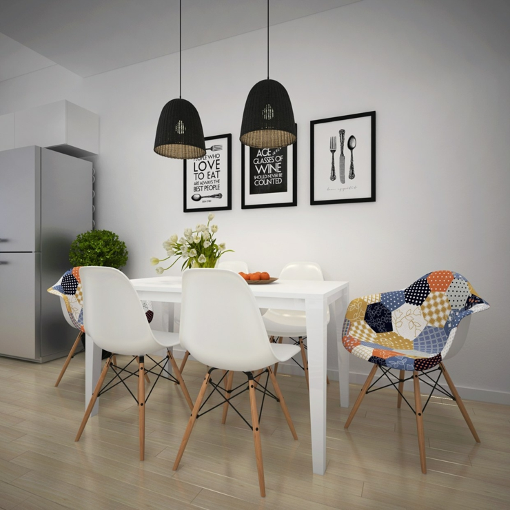 Appartement citadin meubl selon les principes du design for Salle a manger style scandinave