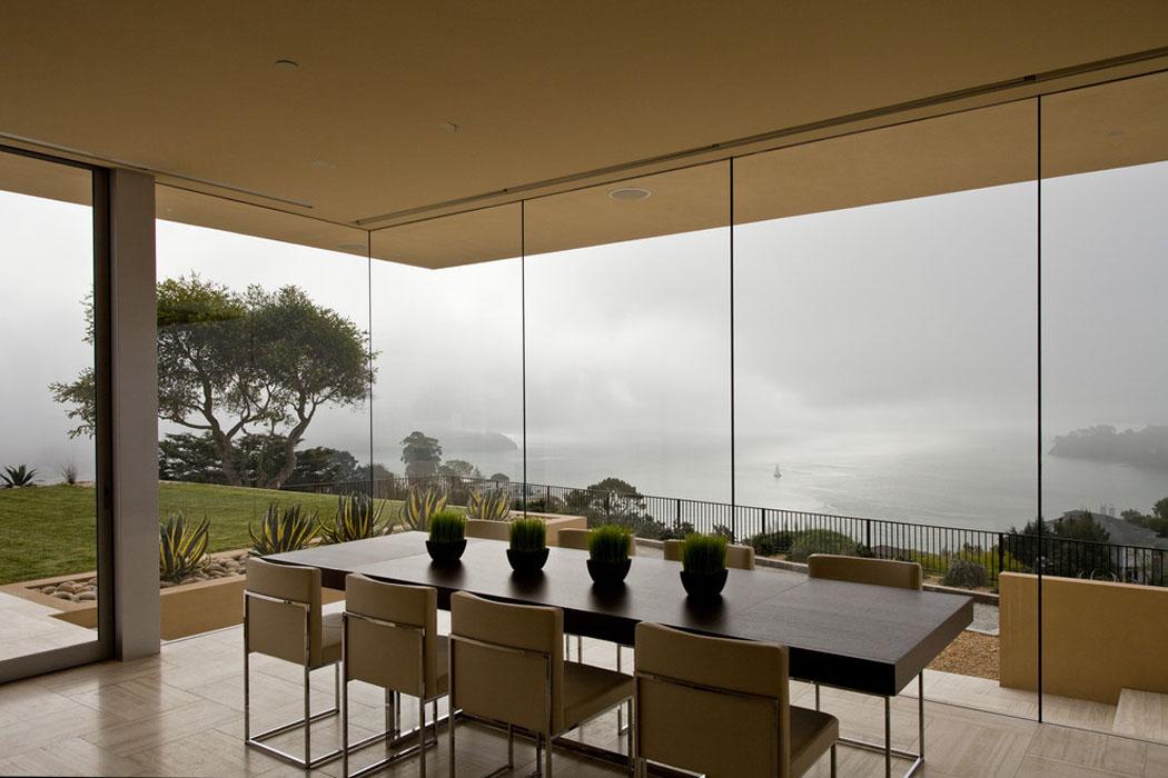 Magnifique maison de luxe san francisco offrant une vue - Residence belvedere vue pont golden gate ...