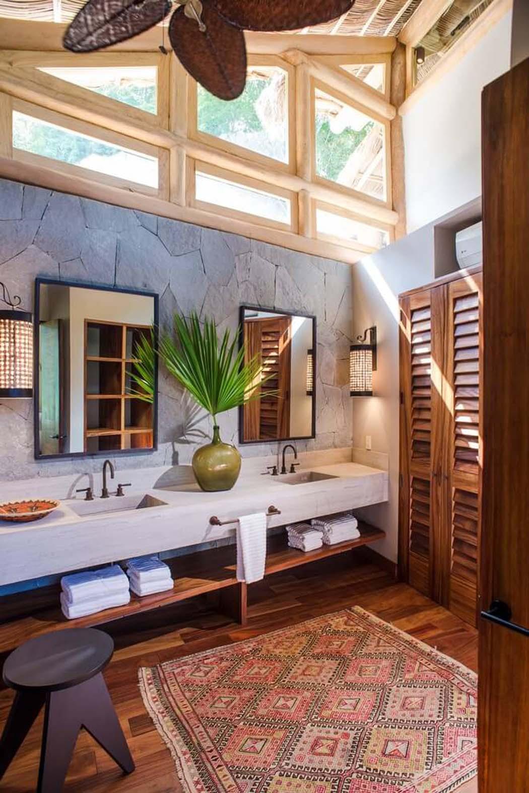 Originale maison location de vacances au mexique avec une belle vue et architecture originale - Deco chambre exotique ...