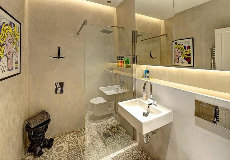 appartement de ville au design int rieur rustique vivons maison. Black Bedroom Furniture Sets. Home Design Ideas