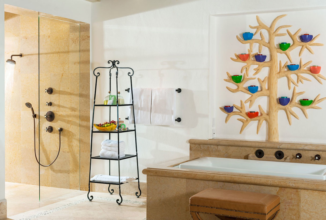 Magnifique villa de r ve los cabos complexe h telier for Kit salle de bain design