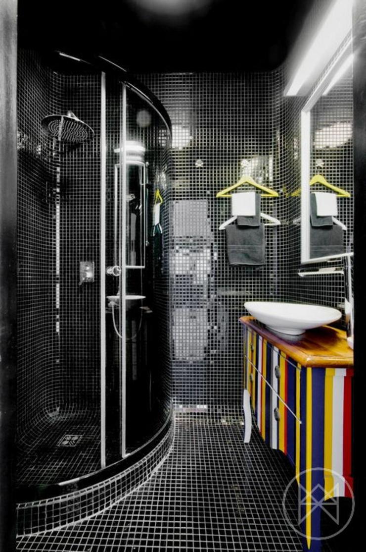 Appartement moderne aux couleurs prononc es varsovie - Couleur appartement moderne ...