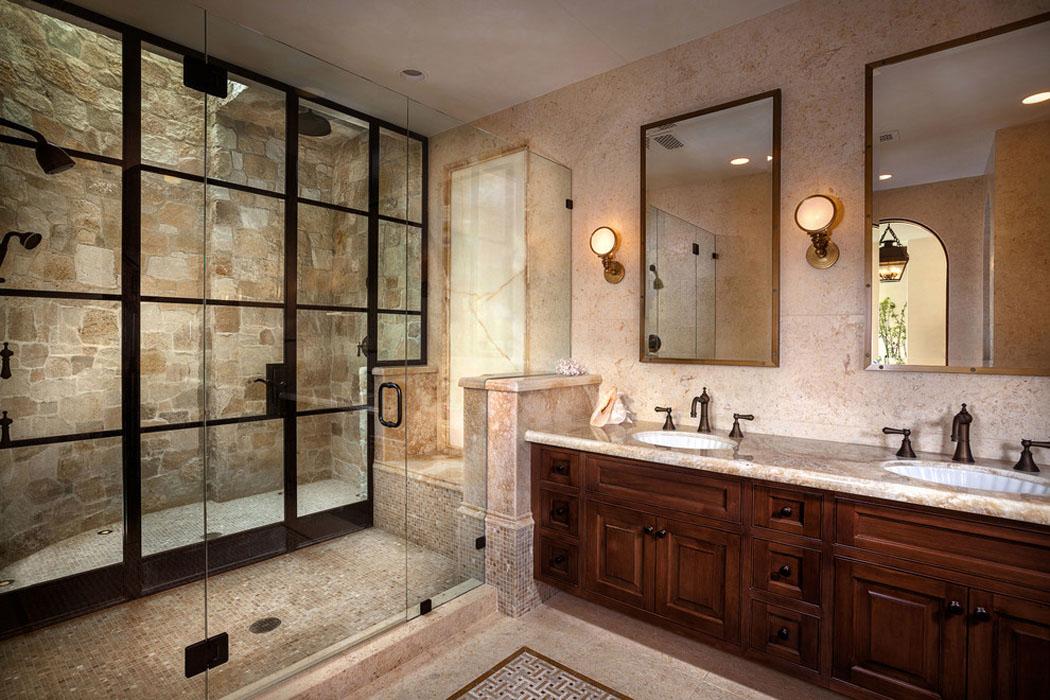 Douche Rustique salle de bain rustique avec douche &cm88 | aieasyspain