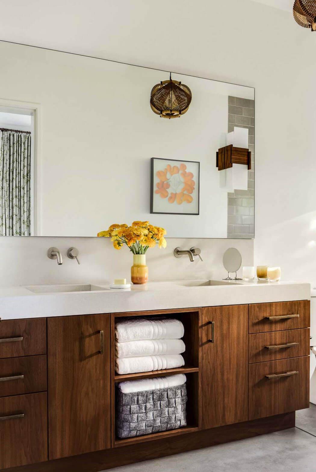 Vivre au c ur des vignobles maison secondaire moderne et - Tres belle maison rustique cotiere californie ...