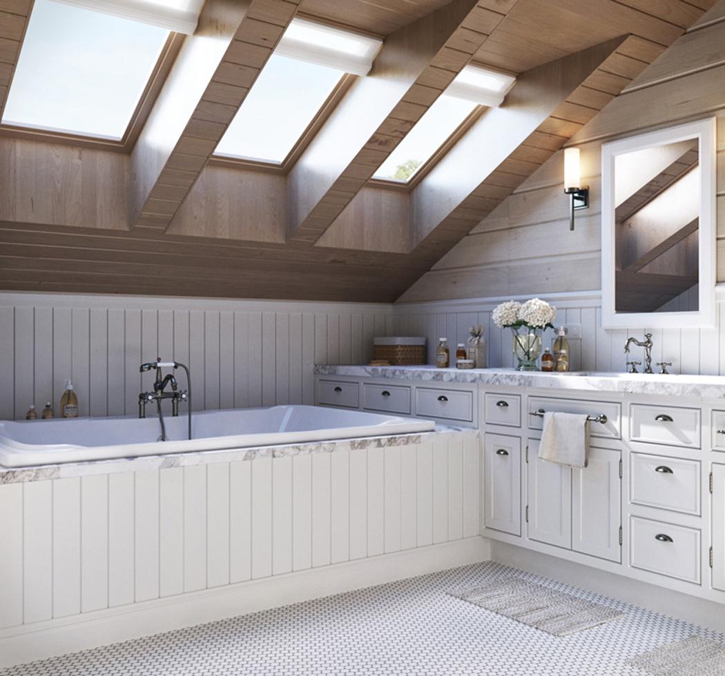attic bedroom ideas pinterest - Jolie maison familiale russe au design intérieur néo