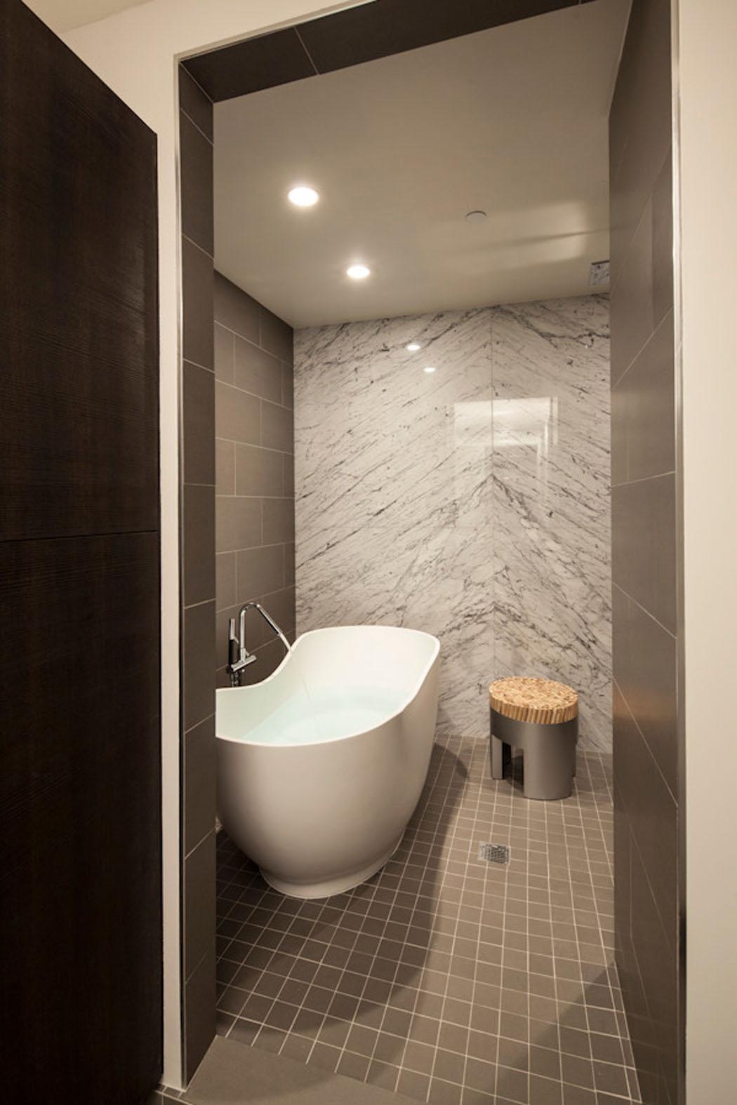 Salle De Bain Ouverte Sur Chambre Design ~ baignoire ouverte excellent douche ouverte sur chambre comment int
