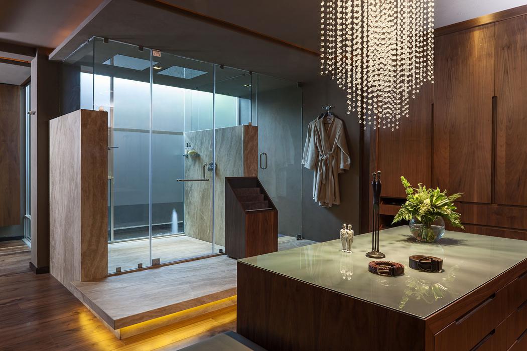 Salle de bain contemporaine luxe torralbenc premier h tel de luxe minorque firstluxe - Belle salle de bain contemporaine ...