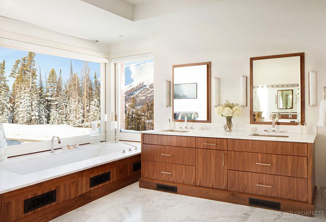 belle r sidence de luxe montana avec de splendides vue sur la montagne vivons maison. Black Bedroom Furniture Sets. Home Design Ideas