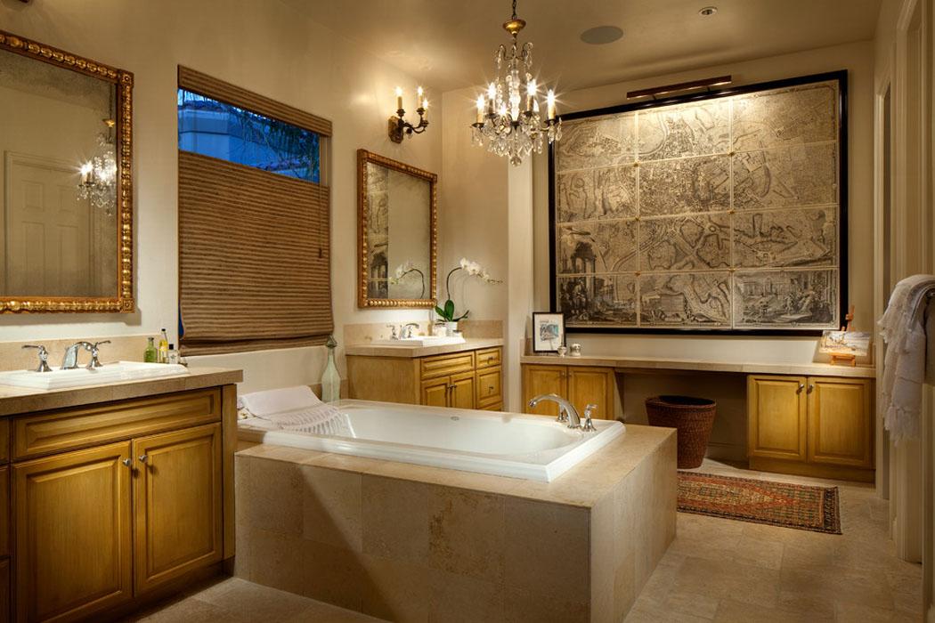 Magnifique maison r nov e los angeles au charme for Salle de bain design luxe