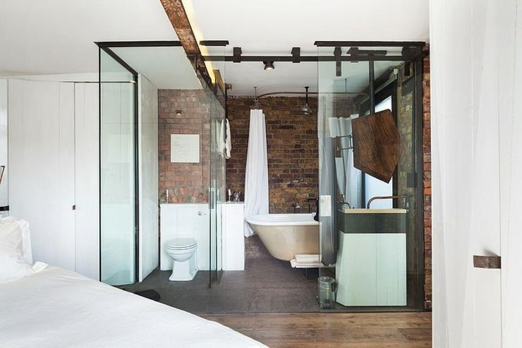 Stunning Chambre Salle De Bain Integre Gallery - House Design ...