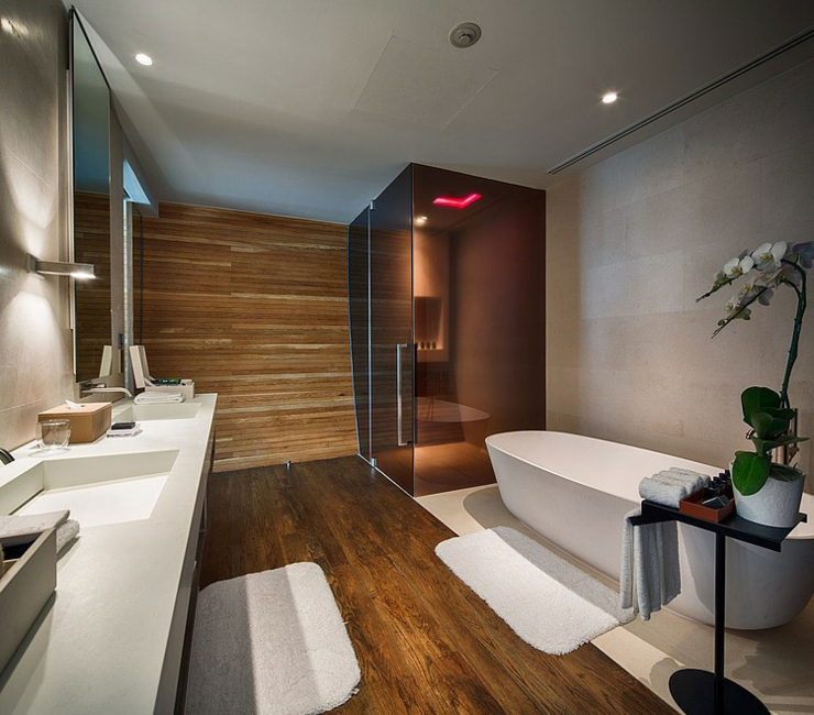 Seaside bathrooms ideas - Villa De R 234 Ve 224 Phuket 224 L Iniala Beach Hotel Vivons Maison