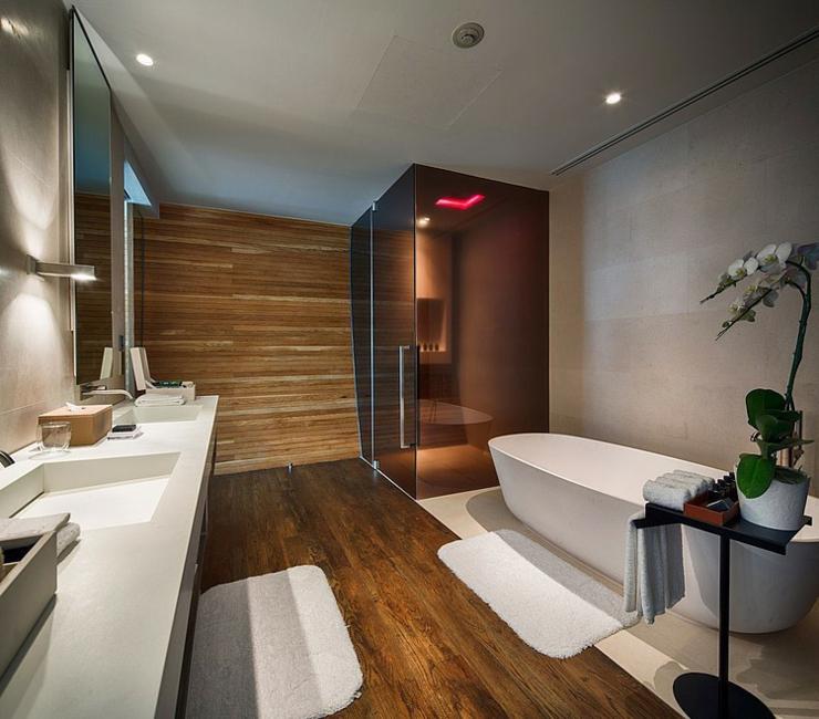 Interieur Maison Moderne Salle De Bain : Villa de rêve à phuket l iniala beach hotel vivons maison