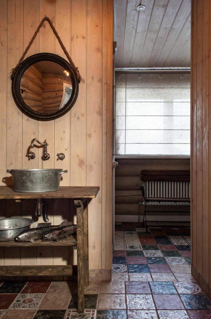 Meuble salle de bain campagne: meubles de salle bains dans la ...