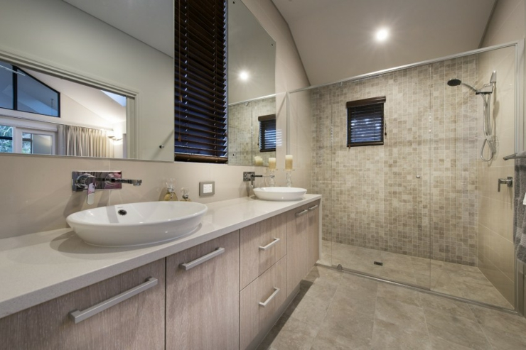 Agr able maison de vacances dunsborough australie for Interieur maison moderne salle de bain