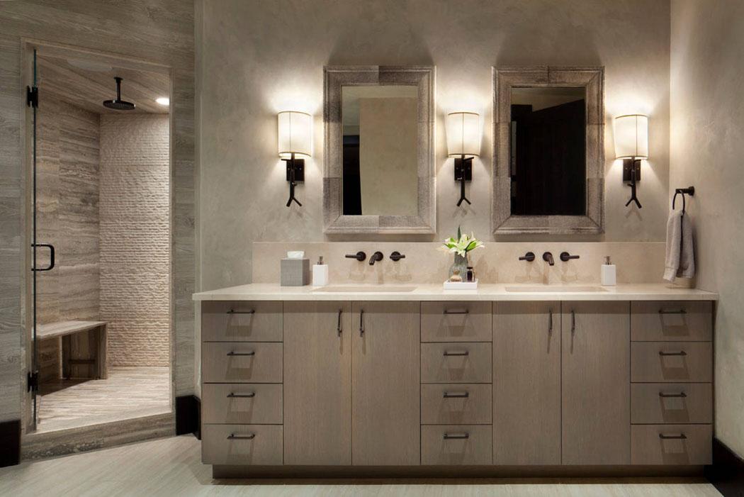 Chalet de luxe dans le montana offrant des vacances en for Salle de bain italienne de luxe