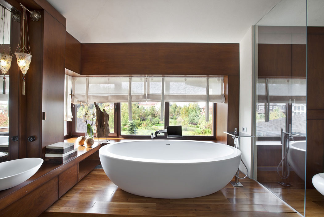 Awesome Salle De Bain De Luxe Moderne Photos  Amazing House Design