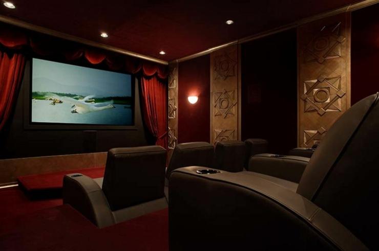 Maison rustique au charme authentique campagnard en caroline du nord vivons maison - Cinema a la maison ...