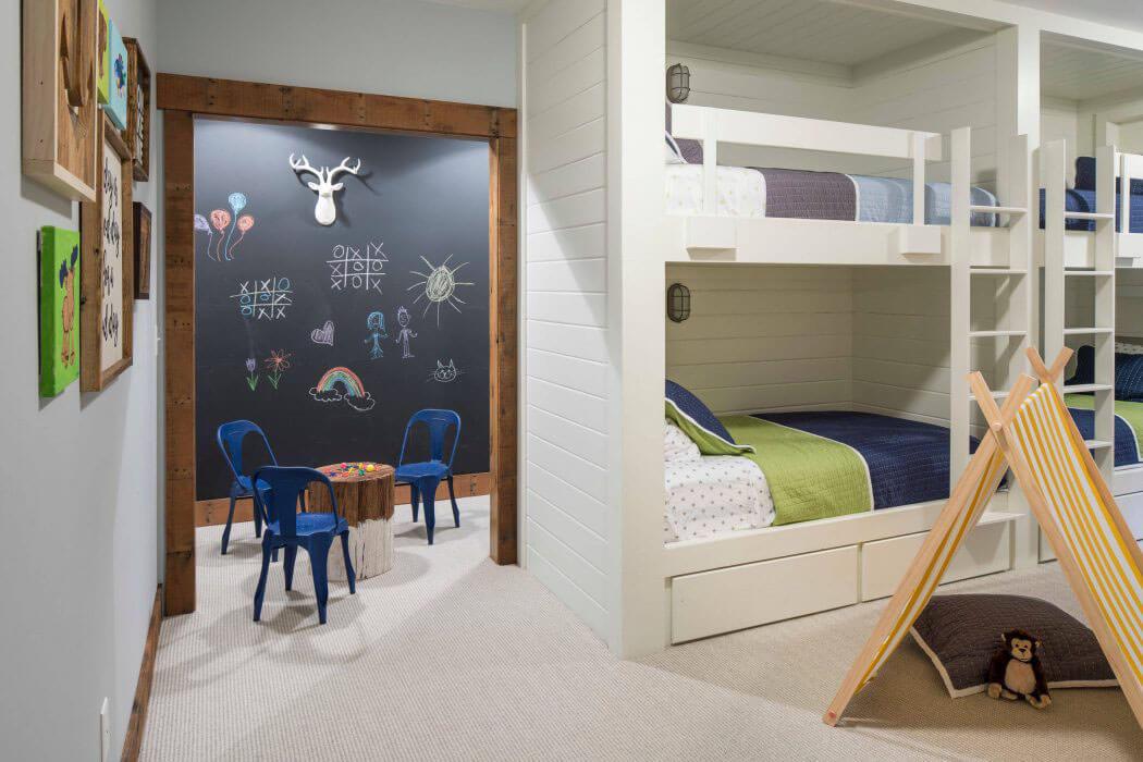 superbe maison de campagne illinois au design int rieur rustique et chaleureux vivons maison. Black Bedroom Furniture Sets. Home Design Ideas