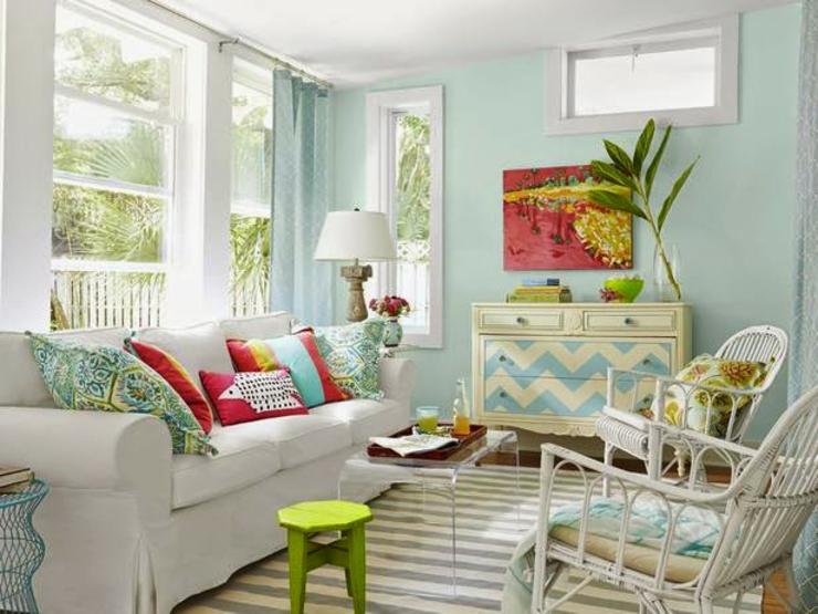 Good maison style cottage maison le salon aux touches for Salon anglais