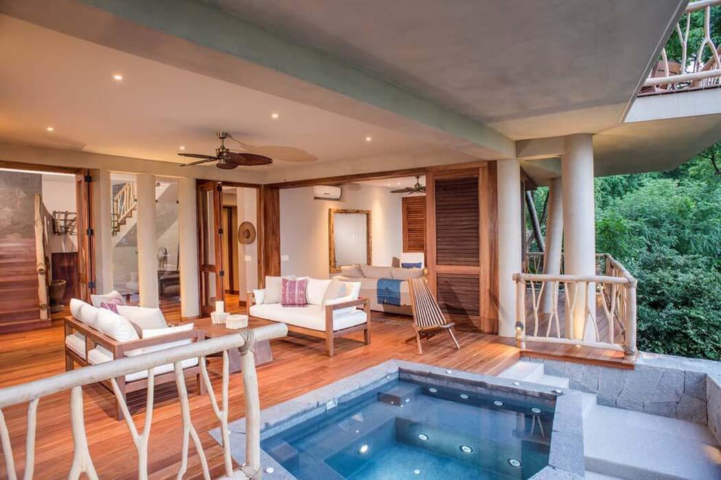 Originale maison location de vacances au mexique avec une - Residence de vacances gedney architecte ...