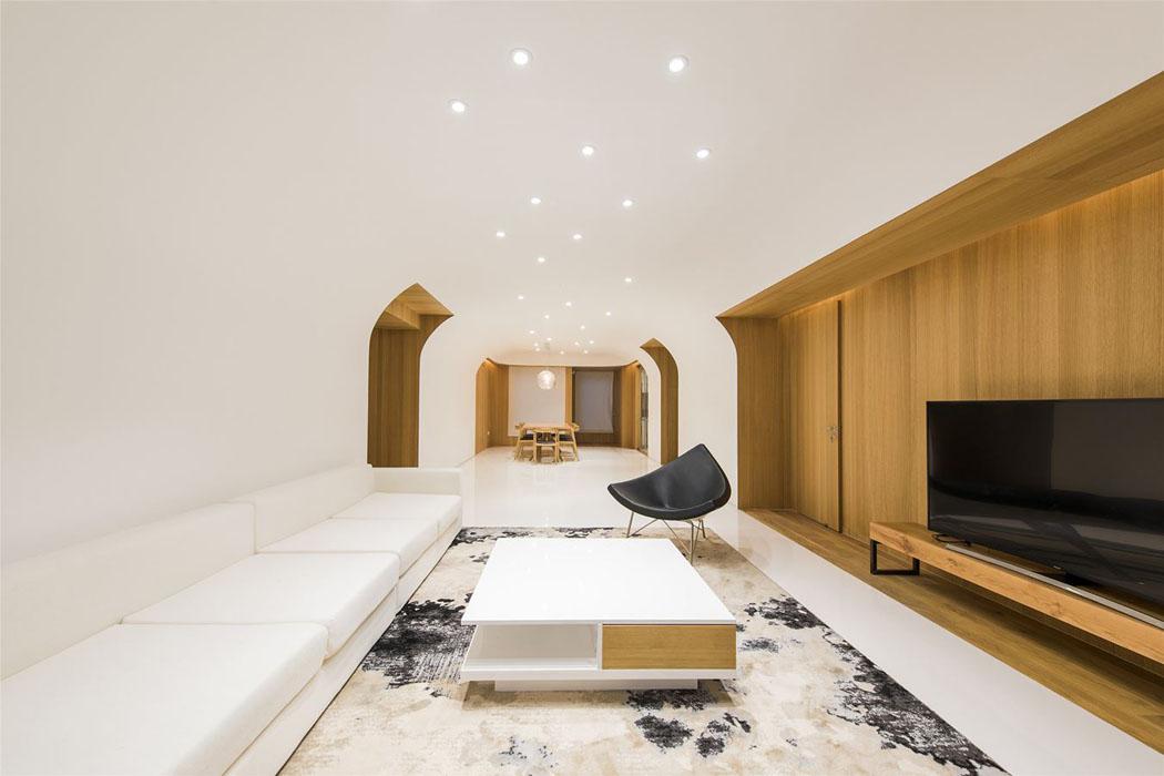 Original design int rieur o les meubles de ch ne sont les for Interieur original maison