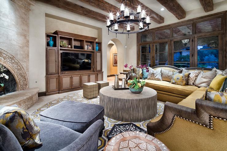 Maison de prestige texane la d co int rieure inspir e - Belle decoration de maison ...