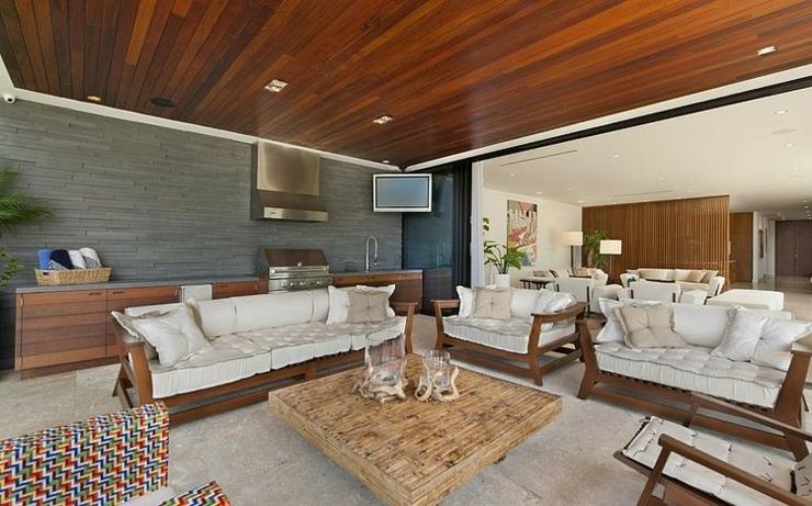 Maison de luxe miami beach floride vivons maison for Salon moderne deluxe