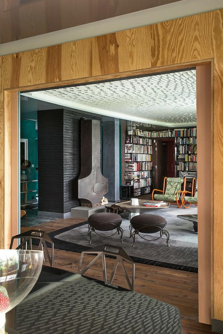 Appartement de luxe au design clectique paris vivons maison - Interieur eclectique grove design ...