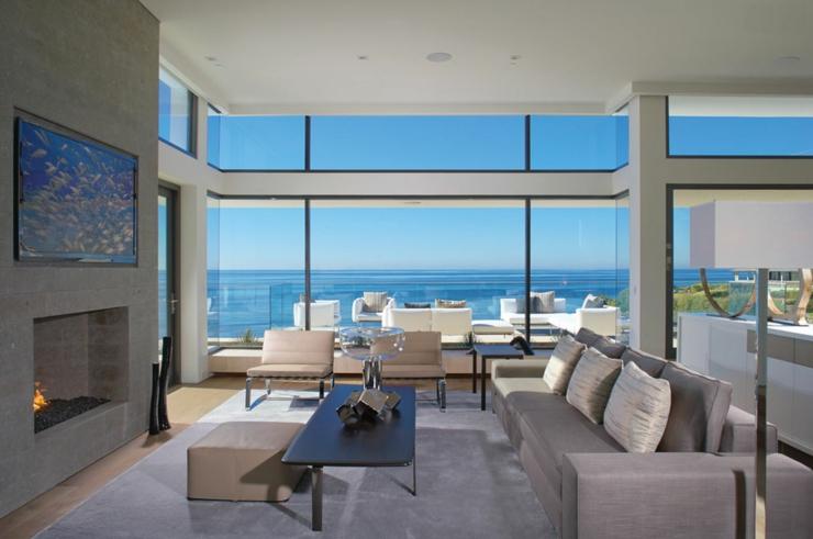 Tr s belle maison avec vue sublime en californie vivons - Tres belle maison rustique cotiere californie ...