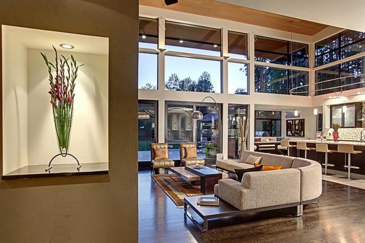 Contemporaine Et Belle Maison Familiale Seattle Vivons