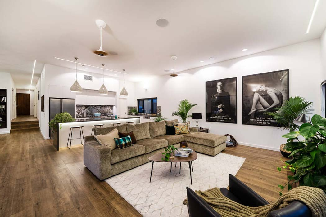 Originale maison contemporaine sur la c te australienne for Photo interieur contemporain
