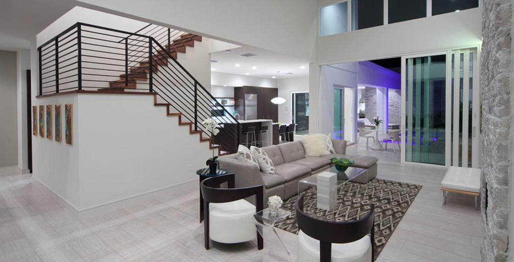 Belle maison d architecte pr s d un lac orlando - Jeu de decoration de maison de luxe ...