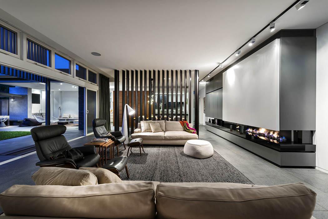 R sidence principale de ville l architecture for Living design contemporain