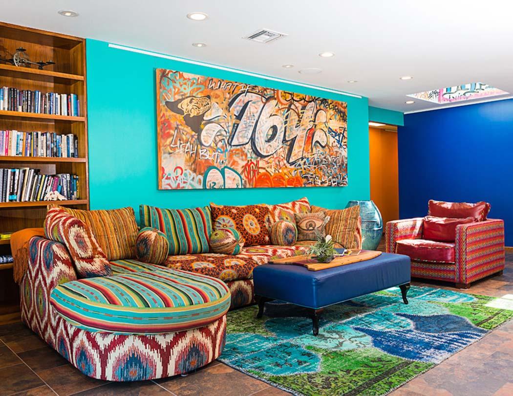 une maison de surfeurs la d coration int rieure jeune et d tach e vivons maison. Black Bedroom Furniture Sets. Home Design Ideas