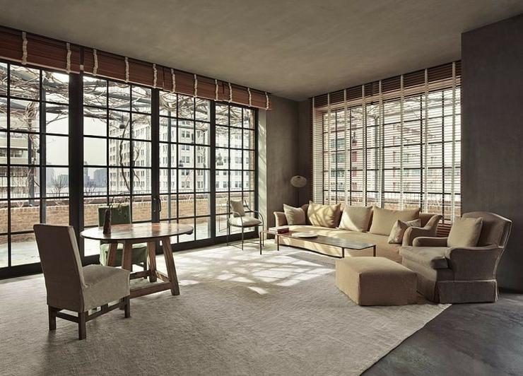 Appartement de ville au design cr atif new york vivons for Interieur new yorkais