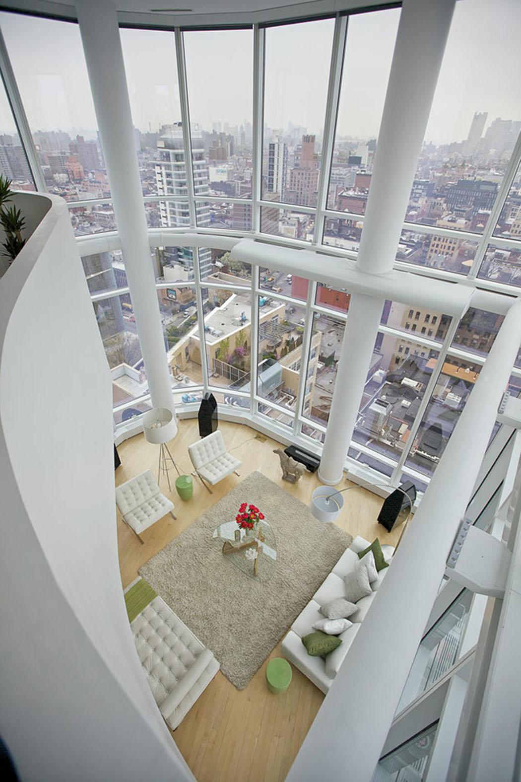 Bel appartement de standing avec vue imprenable sur manhattan vivons maison - Appartement de luxe new york ...