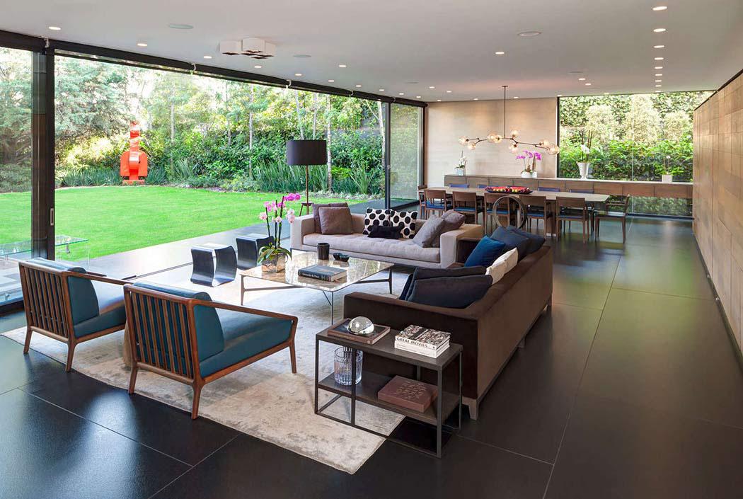 Belle résidence de standing à l'architecture contemporaine ...