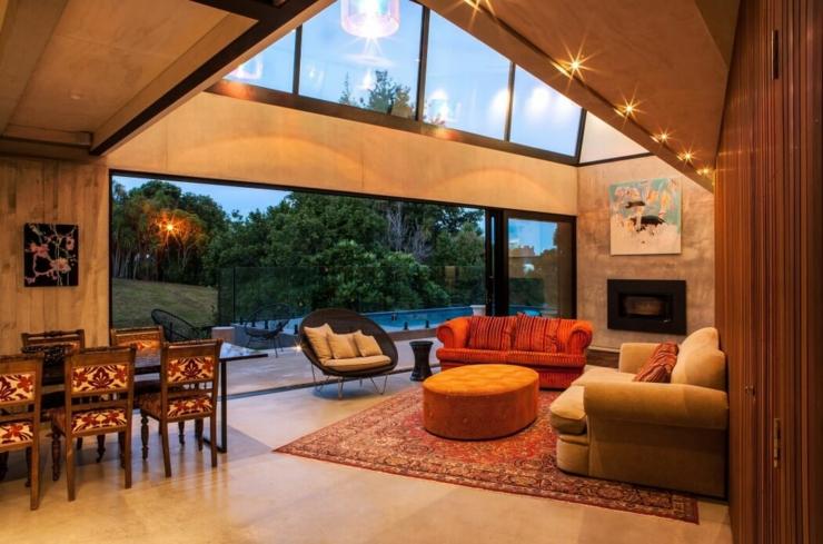 maison industrielle au design original auckland nouvelle z lande vivons maison. Black Bedroom Furniture Sets. Home Design Ideas
