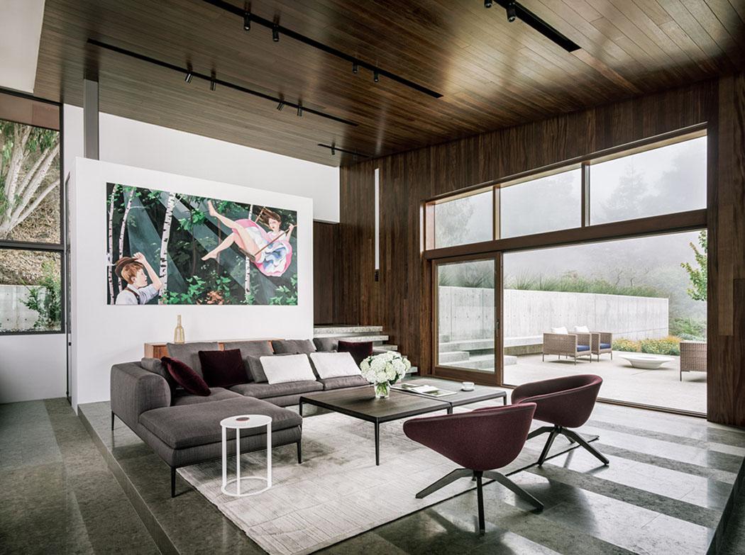 Magnifique maison contemporaine en californie avec une vue - La demeure moderne gb house par mmeb architects ...