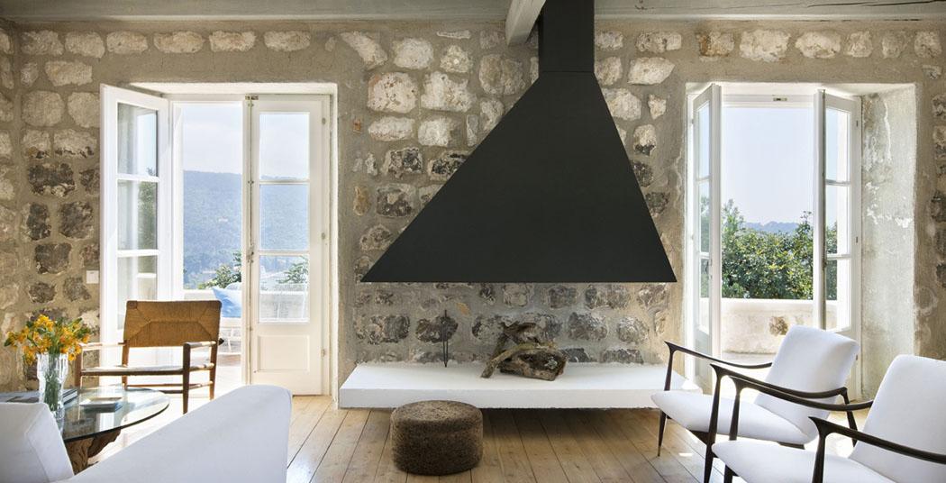 La r sidence de campagne chic et l gante villa san - Vacances a la montagne villa rustique aspen ...