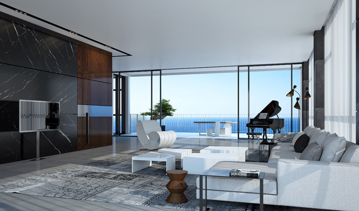 Appartement de luxe en construction sur la c te - Appartement de standing burgos design ...