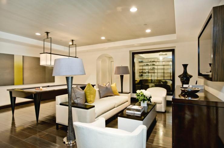 int rieur design d une jolie maison c ti re californienne vivons maison. Black Bedroom Furniture Sets. Home Design Ideas