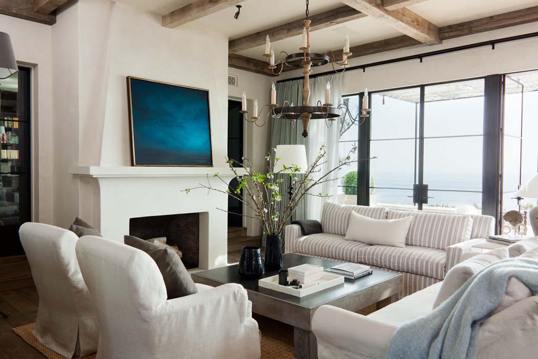 La Villa De Luxe Moderne Se Devoile : Agr� able r� sidence de vacances sur la côte californienne avec