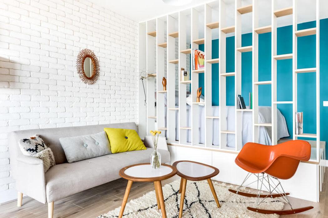 Petit appartement apr s travaux offre un cadre moderne et for Deco appartement t1