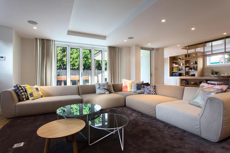 Belle maison moderne et citadine melbourne australie for Maison rez de chaussee