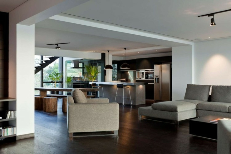 Appartement En Duplex 224 L Ambiance Minimaliste Masculine